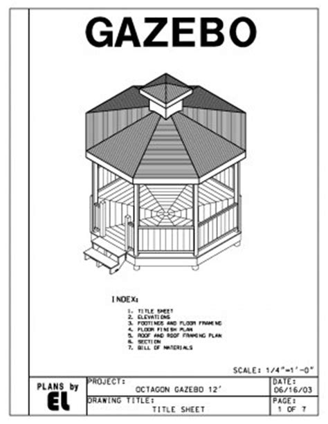 do it yourself building plans octagon 8 sided gazebo building plans blueprints 12 do it