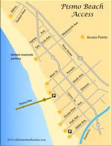 oceano california map pismo