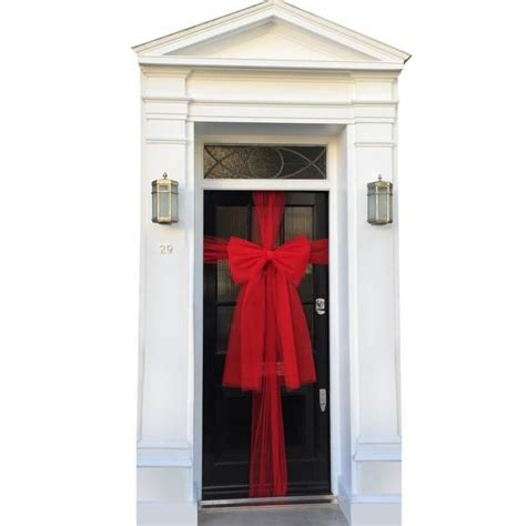 How To Make Bow For Front Door