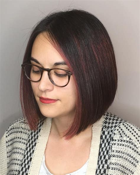 geometric cuts on pinterest haircut styles bob hair bob haircut for round face hairstyle of nowdays