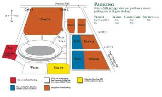 of colorado parking map gameday csu homecoming family weekend