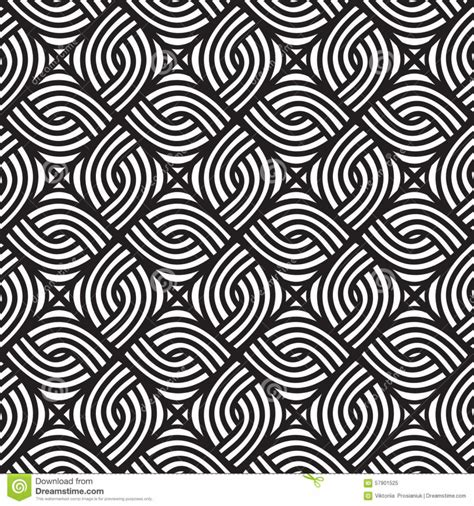 pattern design black abstract wicker black and white pattern seamless vector