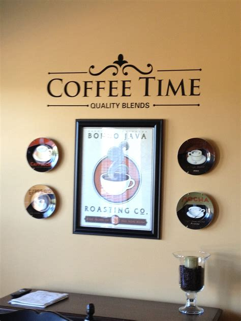 coffee theme wall hangings ideas for my friends