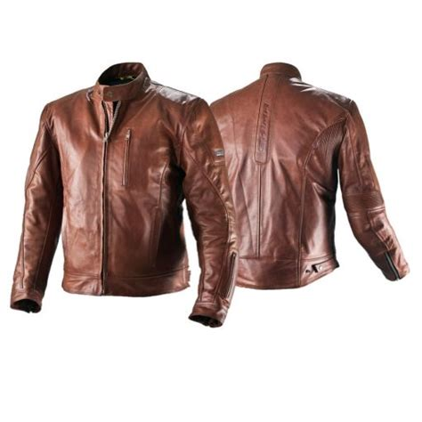 brown motorcycle riding shima hunter brown leather motorcycle classic cafe racer