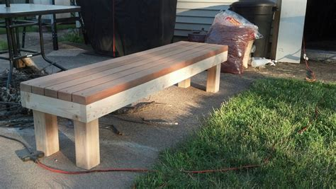 simple  bench   diy bench bench plans