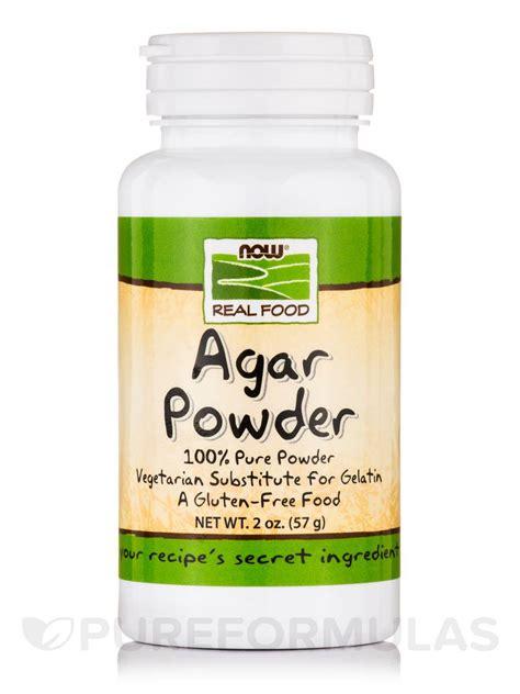 Agar Agar Powder now real food 174 agar powder 2 oz 57 grams