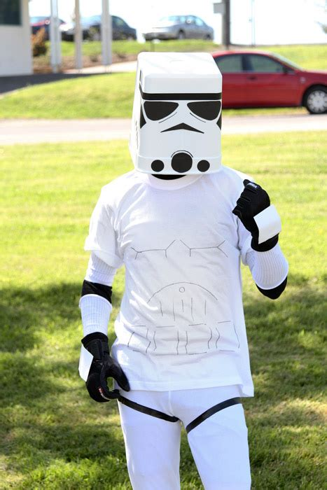 How To Make A Paper Stormtrooper Helmet - make your own stormtrooper helmet compromises with reality