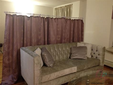 diy curtain room divider diy room divider