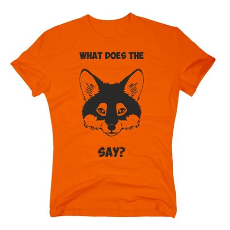 T Shirt Does This T Shirt what does the fox say herren t shirt