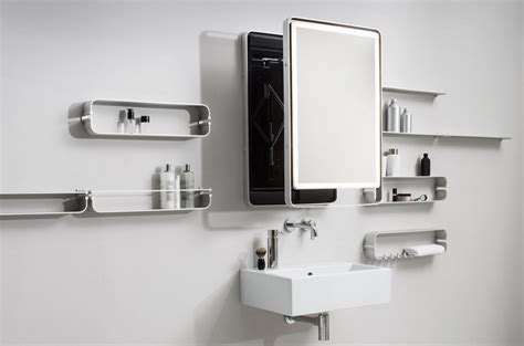 wall mounted extendable mirror by miior