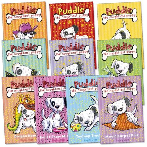 the puddle club books puddle the naughtiest puppy pack scholastic club