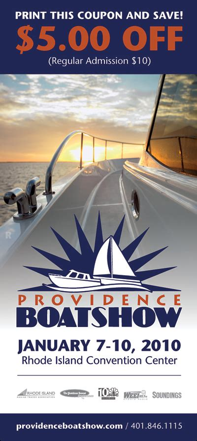 new england boat show tickets discount coupon for 2010 providence boat show j 30 class