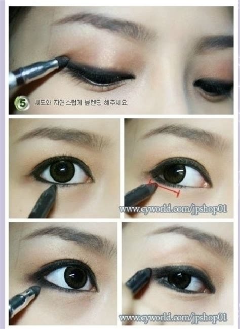 eyeliner tutorial bottom 19 awesome eye makeup ideas for asians