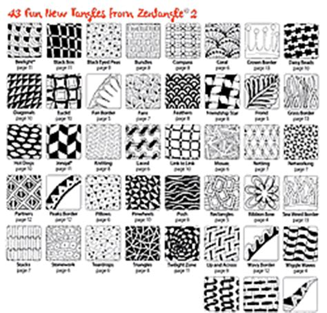 zentangle pattern exles artistic visual reference zentangle 1 zentangle 2 by suzanne mcneill feature step