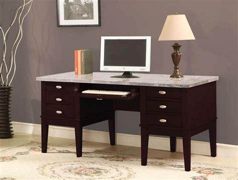 Home Office Desk Marble Top White Marble Top Office Desks