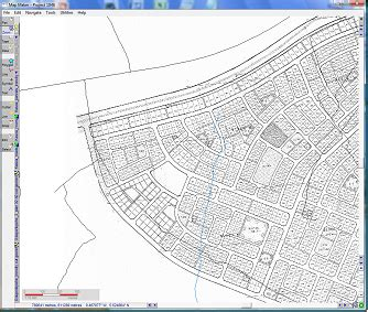 layout zoom scale 2 19 digitize parcels from sector layout