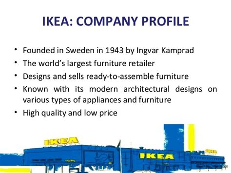 ikea company ikea funding and financing