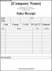 Sales Receipts Template Free Receipt Templates Archives Fine Word Templates