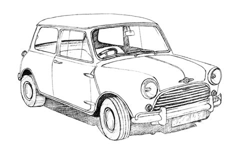 old cars drawings classic british car drawings bob stokes cartoons blog
