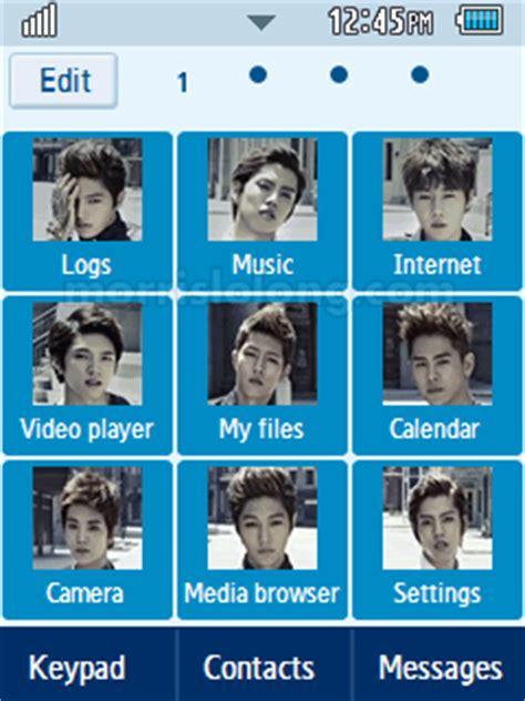 kpop themes for corby 2 infinite destiny korean boy band samsung corby 2 theme