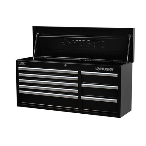 husky 41 in 8 drawer tool chest black htc408bdlx12 the