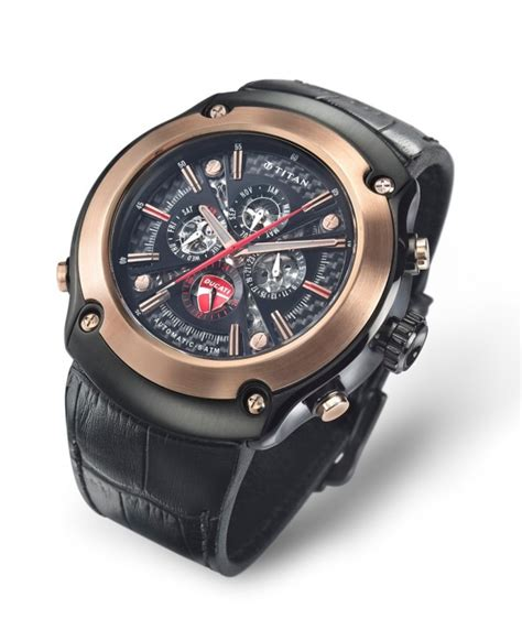 titan launches ducati collection watches at rs 22 995 to