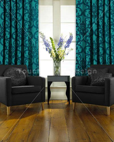 Karma Living Curtains Decorating Image Detail For Fryetts Teal Curtain Decor Ideas Pinterest Teal Curtains Living