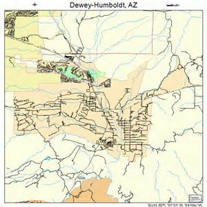 humboldt map dewey humboldt arizona map 0419145