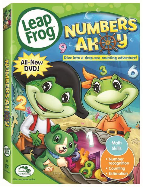 leap frog the amazing alphabet amusement park numbers ahoy leapfrog dvds giveaway ends 1 31