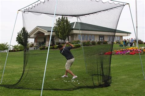 backyard golf net golf net cages plus