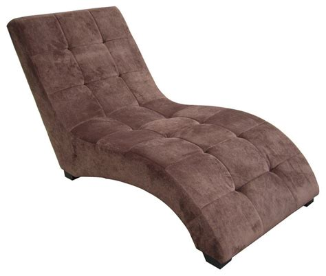 Indoor Chaise Lounge Chairs Modern Chaise Contemporary Indoor Chaise Lounge Chairs By Ore International