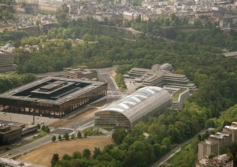 banks in luxembourg mecanoo and burohappold to design the european investment
