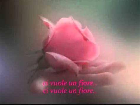 ci vuole un fiore lyrics ci vuole un fiore testo by valentina lyrics