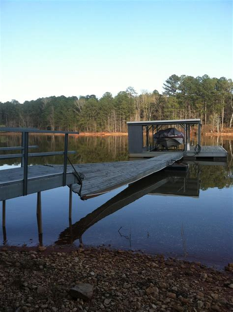 boat dock installation near me gllc replaces wood with aluminum dock west point lake