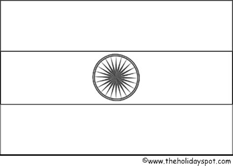 india flag to color free india flag colouring sheet