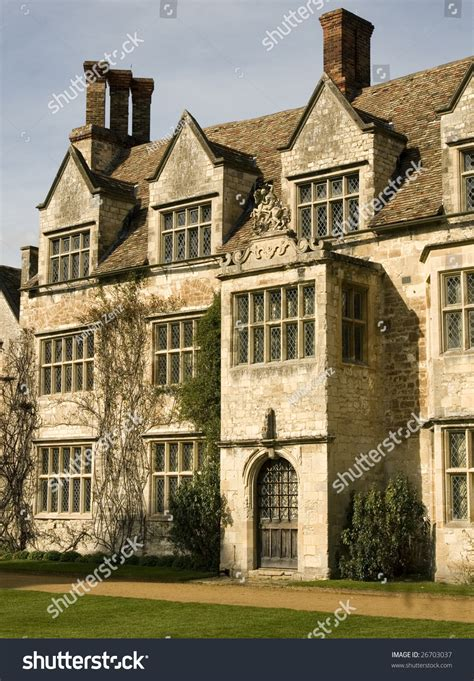 house needs old manor house country house bay stock photo 26703037
