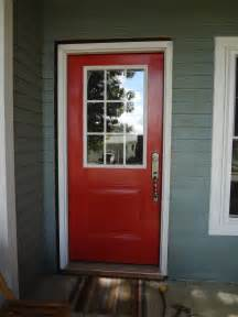 lowes entry doors with glass red front door as surprising door design for modern home
