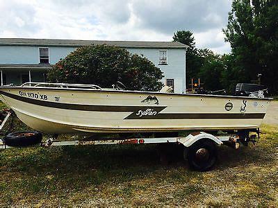 sylvan boats aluminum 16 foot aluminum fishing boat boats for sale