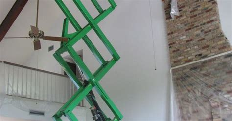 Ladder For Painting High Ceilings by Painting A High Ceiling Can Involve Working In Difficult