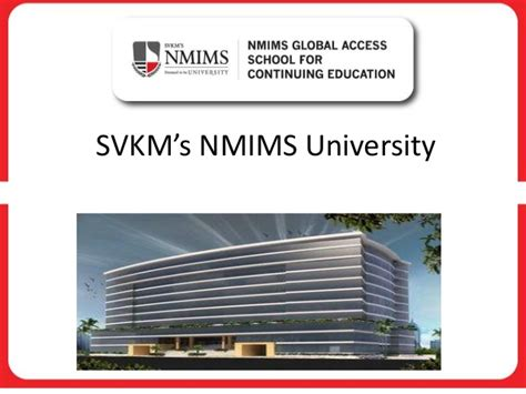 Nmims Distance Mba by Nmims Distance Learning Programs Ppt