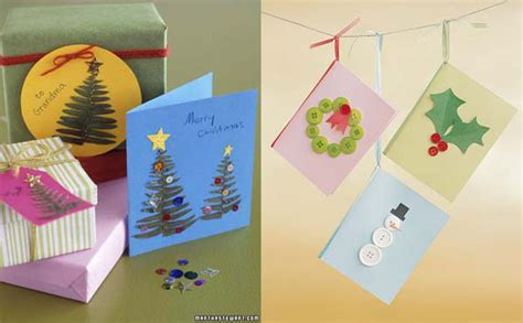 imagenes tarjetas originales postales de navidad originales para hacer en casa