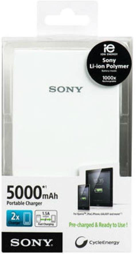 Powerbank 5000 Mah Sony Cp V5 Original Garansi Sony Resmi 1 Tahun sony 5000 mah power bank cp v5 wc price in india buy sony 5000 mah power bank cp v5 wc