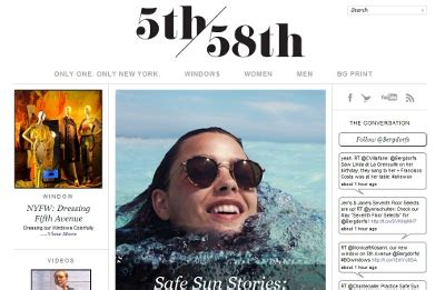 Bergdorf Blogs by Luxury Daily