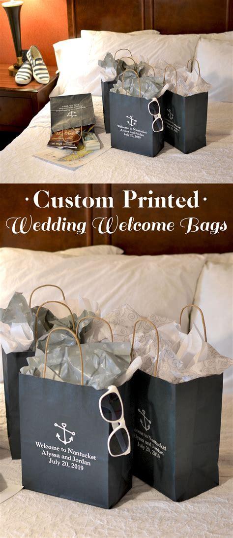 8 x 10 Kraft Wedding Hotel Gift Bags (Set of 25) in 2019