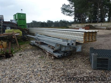 capannone in ferro prezzo capannone industriale in ferro zincato 100 mq europe market