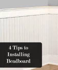 How To Install A Bathtub On Concrete Floor 4 Tips To Installing Beadboard How To Build It