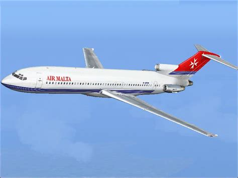 air malta boeing 727 200 nc for fs2004