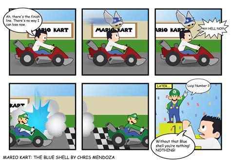 Mario Kart Blue Shell Meme - mario kart funny memes