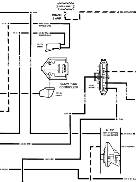 lb7 glow wiring schematic wiring diagrams wiring