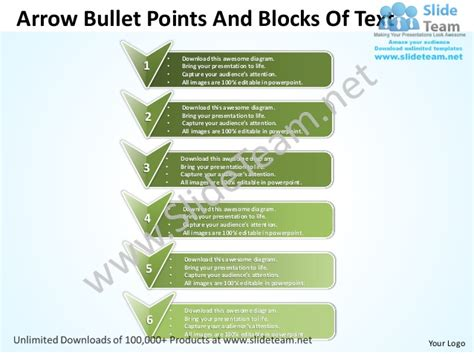 powerpoint tutorial bullet points business power point templates arrow bullet points and